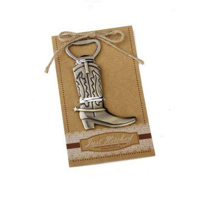 Creative Vintage Bronze Alloy Boot Opener