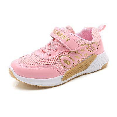 Boys and Girls in The Spring and Autumn Sports Shoes with A Net Surface Air