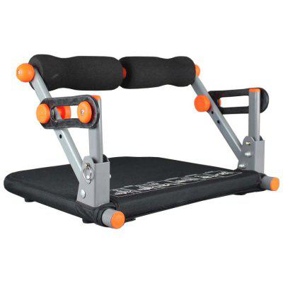 Folable Abdominal Trainer Abs Machine Black