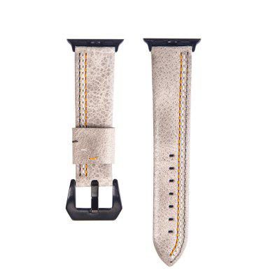 Leather Iwatch Strap Replacement Band for Apple Watch Series 3 / 2 / 1 42MM
