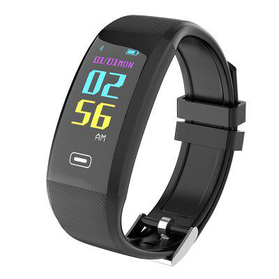 X4 Plus OLED Color Screen Bluetooth Smart Band Bracelet IP67 0 96 inch yellow blue dual color oled display 12864 lcd screen module spi iic 3 3 5v interface