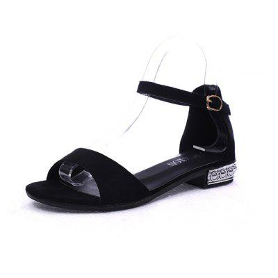 Sandals with Flat Bottomed Fashion Beach Shoes