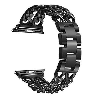 38mm Cowboy Style Stainless Strap for iWatch Series 3 / 2 / 1