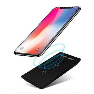 Qi Standard Wireless Fast Charging Charger for iPhone X / 8 Plus / Galaxy S9 S8