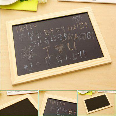 Creative Crafts Wooden Frame Blackboard Writing and Decorating