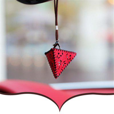 Car Hang Act The Role Ofing To fashion Creative Decorative Pyramid solid wood carved wooden vase of buddha flowerpot tank round base household act the role ofing is tasted