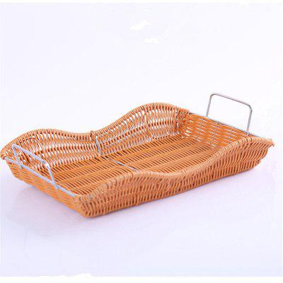 Creative Woven Fruit and Vegetable Basket