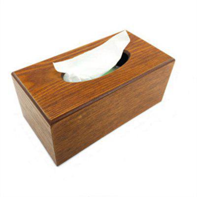 Environment-Friendly Wooden Paper Towel Box