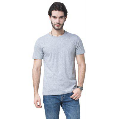 Men Soild Short Sleeve Basic T-shirtMens Short Sleeve Tees<br>Men Soild Short Sleeve Basic T-shirt<br><br>Collar: Round Neck<br>Material: Cotton<br>Package Contents: 1xT-shirt<br>Pattern Type: Solid<br>Sleeve Length: Short Sleeves<br>Style: Casual<br>Weight: 0.2000kg
