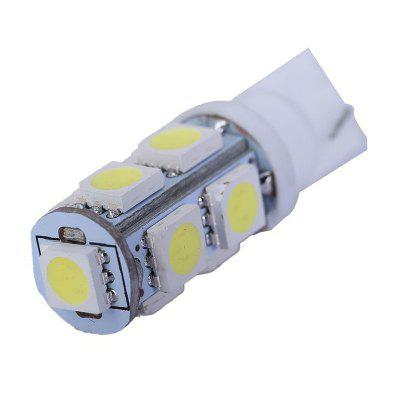 T10 LED Bulbs 5050 9 SMD Car Wedge Interior Side Marker Tail Light 12V 10PCS