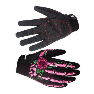 Cycling Mountain Bike Gloves Bicycle Riding Gloves riding seasons half gloves shipping men han antiskid fitness outdoor hip hop wolf mountain