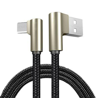 USB Micro Nylon Weaving Fast Charging Data Sync Charger Cable for Xiaomi