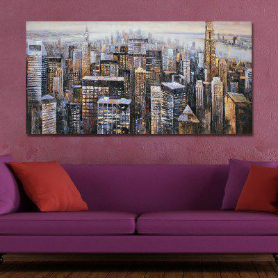 41XDZS - 37 Urban Architectural Landscape Print Art green city spaces urban landscape architecture