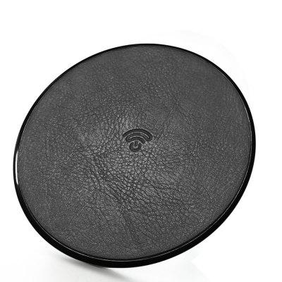 HAMTOD HFC180 Genuine Leather QI Fast Charging Wireless Charger