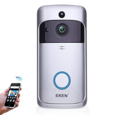 EKEN Smart Video Doorbell 720P HD WiFi Camera Real-Time Two-Way Wide-angle Audio