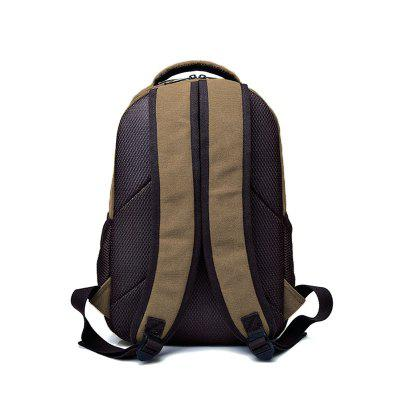 Casual Canvas Computer Backpack Travel School Bag eddie ran 17 inch backpack male nylon bag business men laptop bag bag leisure travel high school students high grade school bag