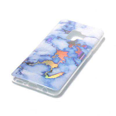 TPU Marble - Plated Soft Shell For Samsung Galaxy S9 Case enkay protective tpu back case w holder stand for samsung galaxy note 3 n9000 pink