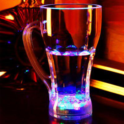 Water-induced Luminous Glass Cup