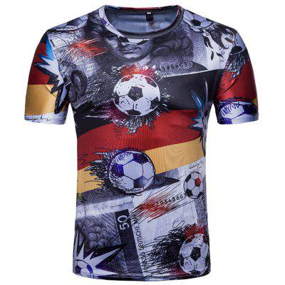 Buy Fans Honour Men's Short-Sleeved T-Shirts, BLACK, XL, Apparel, Men's Clothing, Men's T-shirts, Men's Short Sleeve Tees for $12.95 in GearBest store