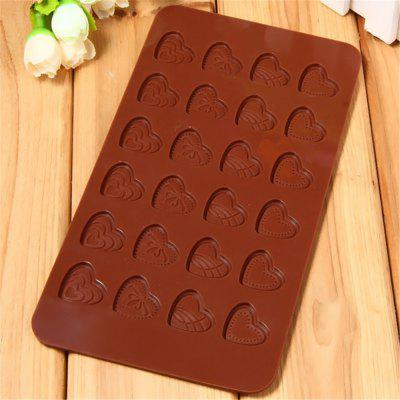 Love Shape Chocolate Silicone Mold Brown concord ultimax 3 chocolate brown