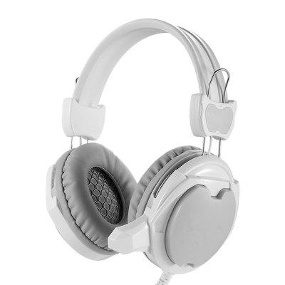 Lightweight Over-Ear Wired HiFi Stereo Folding Headphones