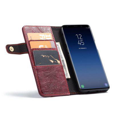 CaseMe for Samsung Galaxy S9+ Crackle Texture Wallet Stand Leather Cover Case cute faerie pattern protective pu leather case cover stand for ipad air pink