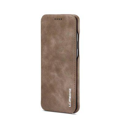 LC.IMEEKE for Samsung Galaxy S9+ Slim Premium Leather Case Cover with Card Slot lichee pattern protective pu leather case cover stand w card slot for samsung galaxy note 3 brown