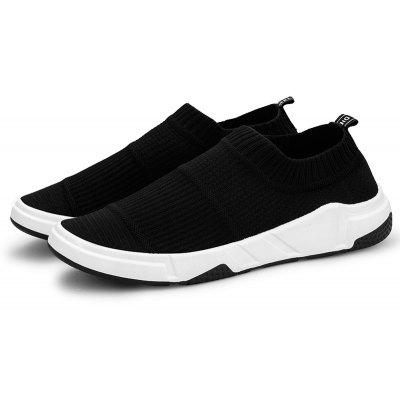 ZEACAVA Summer Breathable Flying Woven Mens Leisure Sports Board ShoesMen's Sneakers<br>ZEACAVA Summer Breathable Flying Woven Mens Leisure Sports Board Shoes<br><br>Closure Type: Lace-Up<br>Contents: 1 x Pair of Shoes<br>Function: Slip Resistant<br>Materials: Cloth<br>Occasion: Sports, Running, Daily, Dress, Casual<br>Outsole Material: Rubber<br>Package Size ( L x W x H ): 30.00 x 20.00 x 10.00 cm / 11.81 x 7.87 x 3.94 inches<br>Package weight: 0.3500 kg<br>Pattern Type: Solid<br>Product weight: 0.3000 kg<br>Seasons: Spring<br>Style: Comfortable, Leisure, Fashion, Casual<br>Toe Shape: Round Toe<br>Type: Casual Shoes<br>Upper Material: Cloth