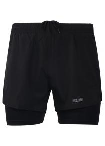 ARSUXEO Men's Running Breathable Active Training Cycling Shorts