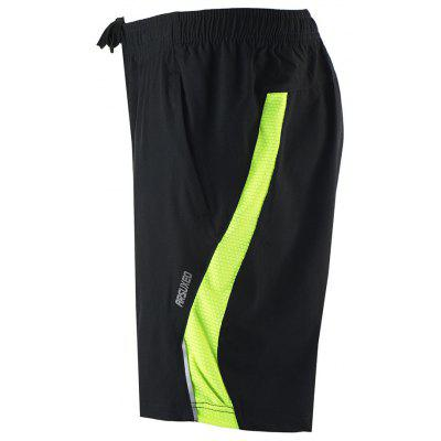 ARSUXEO Men's Running Breathable Training Cycling Shorts arsuxeo ar608s quick drying cycling polyester jersey for men fluorescent green black l
