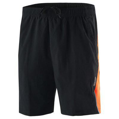 ARSUXEO Men's Running Breathable Training Cycling Shorts