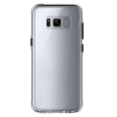 Case for Samsung Galaxy S8 Shockproof Transparent Back CoverSamsung S Series<br>Case for Samsung Galaxy S8 Shockproof Transparent Back Cover<br><br>Compatible with: Samsung Galaxy S8<br>Features: Back Cover, Anti-knock<br>For: Samsung Mobile Phone<br>Material: TPU, PC<br>Package Contents: 1 x Phone Case<br>Package size (L x W x H): 15.50 x 7.70 x 1.40 cm / 6.1 x 3.03 x 0.55 inches<br>Package weight: 0.0300 kg<br>Product size (L x W x H): 15.20 x 7.50 x 1.20 cm / 5.98 x 2.95 x 0.47 inches<br>Product weight: 0.0276 kg<br>Style: Transparent