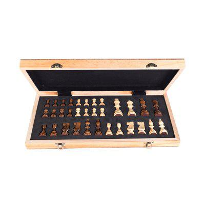 High Grade Wooden Puzzle Chess with Magnetic Recreation Board Game Toys vintage board game saboteur