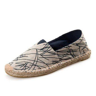 Men and Women Casual Canvas Flat Heel Flats Loafers Shoes