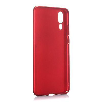 Case for Huawei P20 Ultra-thin Frosted Back Cover Solid Color Hard PC ultra thin pc hard back cover phone case for iphone 6 plus 6s plus