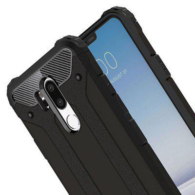 Armor Case for LG G7 Shockproof Back CoverCases &amp; Leather<br>Armor Case for LG G7 Shockproof Back Cover<br><br>Compatible Model: LG G7<br>Features: Anti-knock, Dirt-resistant<br>Mainly Compatible with: LG<br>Material: TPU, PC<br>Package Contents: 1 x Phone Case<br>Package size (L x W x H): 16.00 x 8.00 x 1.20 cm / 6.3 x 3.15 x 0.47 inches<br>Package weight: 0.0400 kg<br>Product Size(L x W x H): 15.50 x 7.40 x 1.20 cm / 6.1 x 2.91 x 0.47 inches<br>Product weight: 0.0350 kg<br>Style: Special Design, Cool