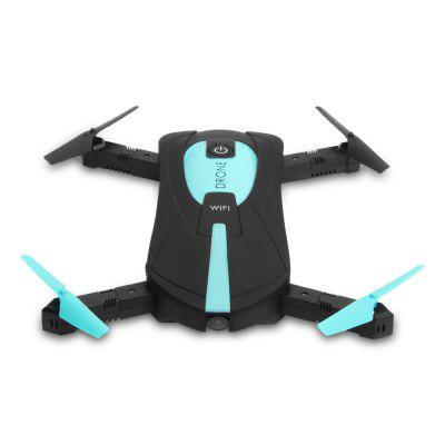 WiFi Foldable RC Quadcopter with 0.3MP Wide Angle Camera