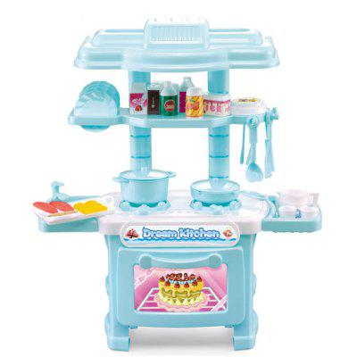 Cooking Utensils Kitchen Toys Suit Girl Simulation
