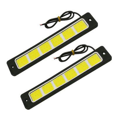 1 Pair 7.5 Inches 60W 6000LM Super Bright Benable Car E4 LED DRL