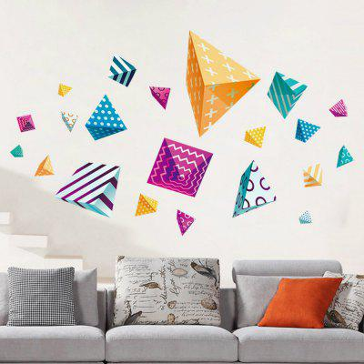 3D Wall Stickers Creative Colorful Decals