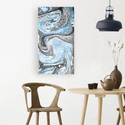 W201 Water Flow Unframed Art Wall Canvas Prints for Home Decorations