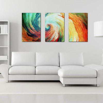 W205 Storm Unframed Art Wall Canvas Prints for Home Decorations 3 PCS horses printed unframed wall art canvas paintings