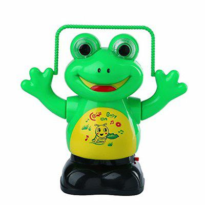 New Interest Electric Music Glowing Rope Skipping Frog