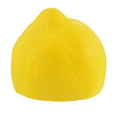 Big Lemon Jumbo Squishy New PU Slow Rebound Toy new pu slow rebound jumbo squishy penguin toys