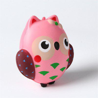Slow Rebound Owl Decompression and Release Jumbo Squishy Toys slow resilient series of lovely elastic mermaid toys jumbo squishy 5pcs