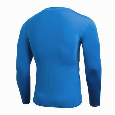 Compression Quick Dry Fitness Tights Gym Men Sportswear Basketball T-Shirt 2017 winter outdoor quick dry running sets men compression sports suits jogging basketball tights clothes gym fitness sportswear