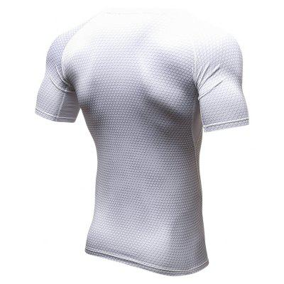 Fitness Tight Compress Sports Quick Dry Soccer Jerseys Man Short T-Shirts брюки accelerate tight