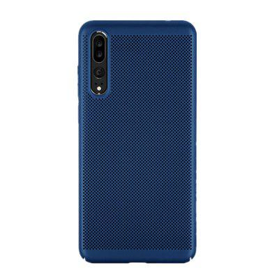 Hülle für Huawei P20 Pro Wärmeableitung Frosted Back Cover Volltonfarbe Hard PC