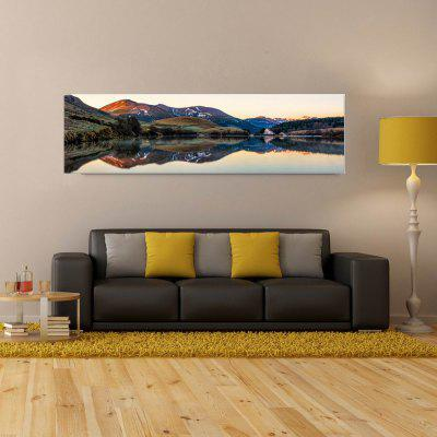 W216 Mountain and Lake Unframed Art Wall Canvas Prints for Home Decorations