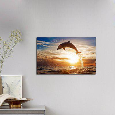 W220 Sea and Dolphin Unframed Art Wall Canvas Prints for Home DecorationsPrints<br>W220 Sea and Dolphin Unframed Art Wall Canvas Prints for Home Decorations<br><br>Craft: Print<br>Form: One Panel<br>Material: Canvas<br>Package Contents: 1 x Print<br>Package size (L x W x H): 35.00 x 4.00 x 4.00 cm / 13.78 x 1.57 x 1.57 inches<br>Package weight: 0.0490 kg<br>Painting: Without Inner Frame<br>Product size (L x W x H): 48.00 x 30.00 x 1.00 cm / 18.9 x 11.81 x 0.39 inches<br>Product weight: 0.0450 kg<br>Shape: Horizontal Panoramic<br>Style: European Style, Artistic Style, Animal, Fashion<br>Subjects: Animal<br>Suitable Space: Living Room,Dining Room,Office,Hotel,Cafes
